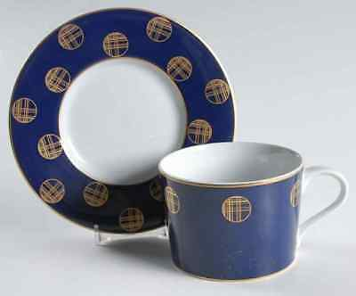 Block ORBIT-BLUE Cup & Saucer 35507