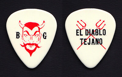 ZZ Top Billy Gibbons El Diablo Tejano Guitar Pick - 2010