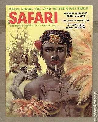 Safari Magazine #Vol. 2 #5 1956 FN 6.0
