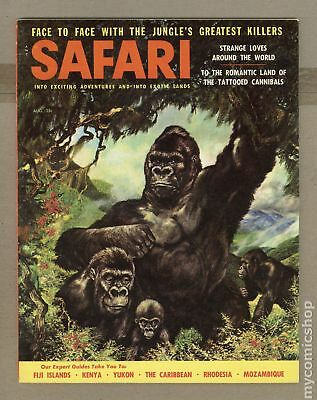 Safari Magazine #Vol. 4 #6 1957 FN- 5.5