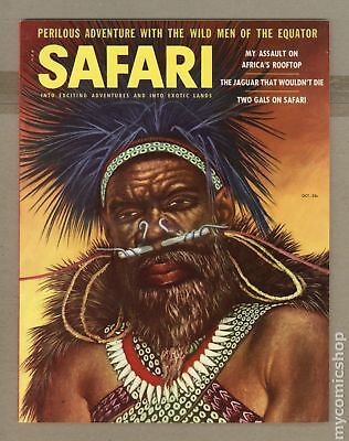 Safari Magazine #Vol. 3 #4 1956 FN- 5.5