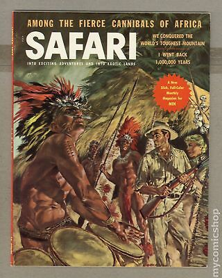 Safari Magazine #Vol. 4 #1 1956 VG+ 4.5