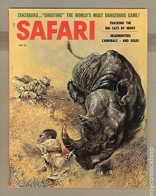 Safari Magazine #Vol. 4 #3 1957 VG/FN 5.0