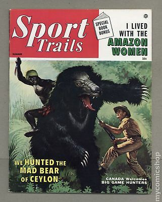 Sport Trails #Vol. 1 #1 1956 FN+ 6.5