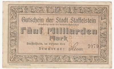 080 Staffelstein, 5Md.Mark, Okt.23