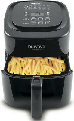 NuWave Brio Digital Air Fryer (6 qt, Black)