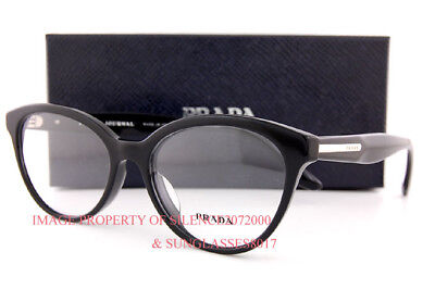 aaf231f1abb0 BRAND NEW MIU Miu Eyeglass Frames MU 54PV 1AB Black Gold For Women ...
