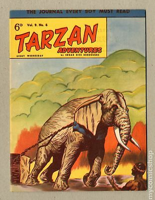 Tarzan Adventures (Westworld) UK #Vol. 9 #6 1959 VF- 7.5