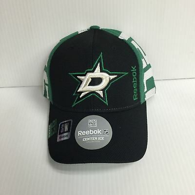 new style 33a83 8f448 ... usa dallas stars reebok cap 2016 official nhl draft stretch fit fitted  hat d98db 5e47c