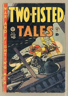 Two Fisted Tales (EC) #34 1953 FR/GD 1.5