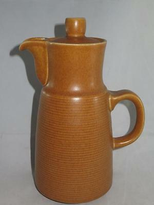 VINTAGE LOVATT LANGLEY (DENBY) Stoneware Coffee Pot with Lid Canterbury
