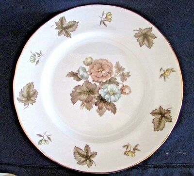 "Vintage ROYAL WORCESTER DORCHESTER, Bone China, 10 1/2"" Dinner Plate, Set of 2"