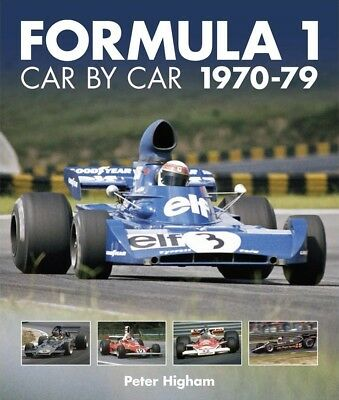 Formula 1 Car by Car 1970-79 (Formel 1 Autos Teams Bilder Daten) Buch book F1