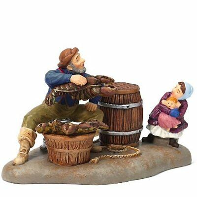 Dept 56 New England Village - Today's Catch 56693 Lobster Fisherman Brand New