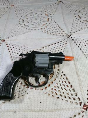 Vintage 1978 Edison Wasp 22 Revolver made in Italy retro Toy Pistol