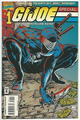 Marvel Comic G.I. Joe Special #1 McFarlane 1995 Real American Hero small ding!!^