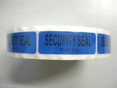1 Roll Tamper Proof Security Seals (1000 Labels) VOID OPEN 5.5*2 cm Stickers