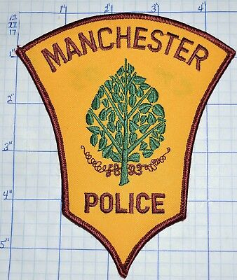 Connecticut, Manchester Police Dept Patch