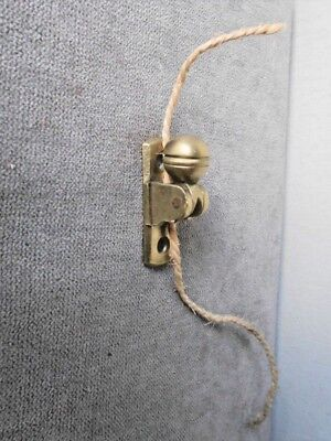 Vintage french bronze CORD STOPPER