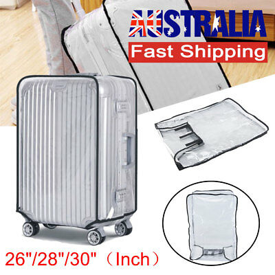 Transparent PVC Waterproof Suitcase Success Travel Luggage Protector Cover Case