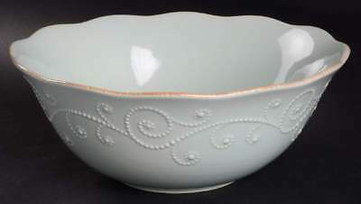 Lenox FRENCH PERLE ICE BLUE Round Serving Bowl 8799986