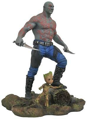 Guardians of the Galaxy Vol. 2 Marvel Gallery PVC Statue Drax & Baby Groot Figur