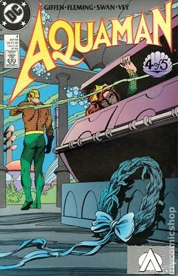 Aquaman (2nd Limited Series) #4 1989 VF Stock Image