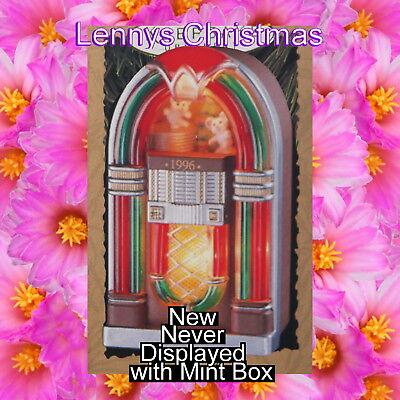 Hallmark Ornament, 1996 Jukebox Party, New