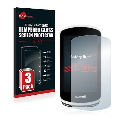 3x TEMPERED GLASS SCREEN PROTECTOR for Garmin Edge 1030