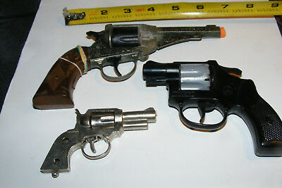 Lot Of 3 Different Revolvers To Restore Or Parts