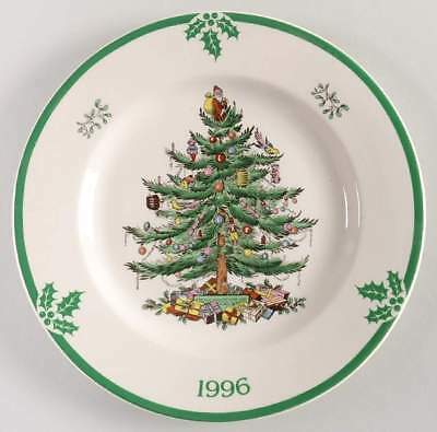 Spode CHRISTMAS TREE (GREEN TRIM) 1996 Collector Plate 7202337