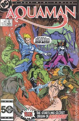 Aquaman (1st Limited Series) #3 1986 FN Stock Image