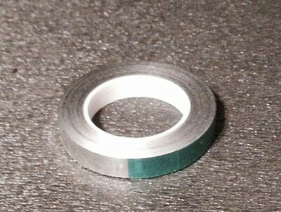 "1/4"" Sensing Foil Tape 50' Aluminum 8-Track Reel To Reel New"