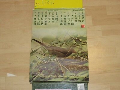 Vintage 1973 Coca-Cola Advertising Calendar I'd Like To Build The World A Home