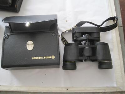 Bausch & Lomb Legacy Binoculars With Strap And Case 7-15 x 35 5.6 At 7X Used GC