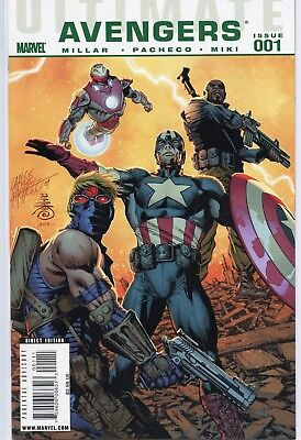 Ultimate Avengers # 1-18 Complete Set Captain America Iron Man Marvel Comics