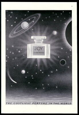 1941 outer space comet planet GREAT Artzybasheff art Joy perfume print ad