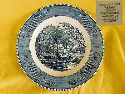 Currier and Ives by Royal DINNER PLATE  have more items to set