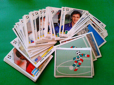 PANINI WC ITALIA 90 - stickers at your choice n.1/151 - removed VG cond [MAX]