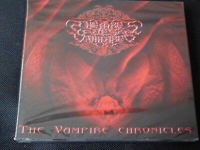 Theatres Des Vampires - The Vampire Chronicles (SEALED NEW CD 2003)