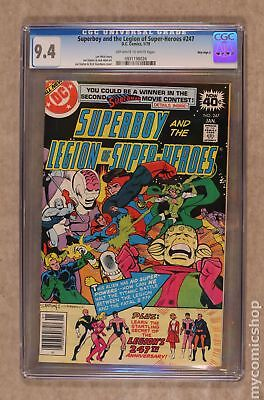 Superboy (1st Series DC) #247 1979 CGC 9.4 Mile High II 0931198026