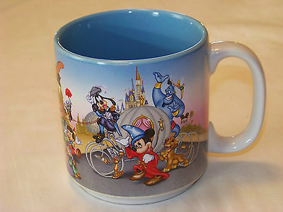 DISNEY: Mug - It's Time to REMEMBER THE MAGIC 25  - 1996 Mickey Mouse & others