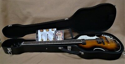 Hofner HCT 500/1 Contemporary BEATLE BASS GUITAR GREAT VINTAGE STYLE VIBE & CASE