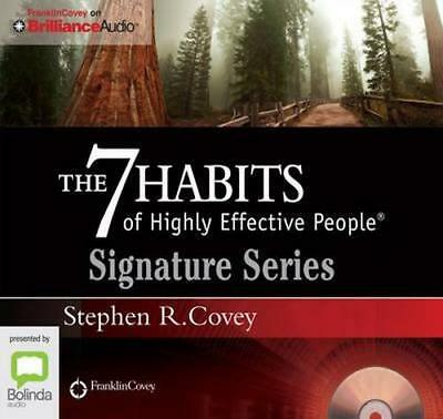 NEW The 7 Habits Of Highly Effective People By Stephen R. Covey Audio CD