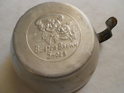 Aluminum Cup Advertising Buster Brown Shoes