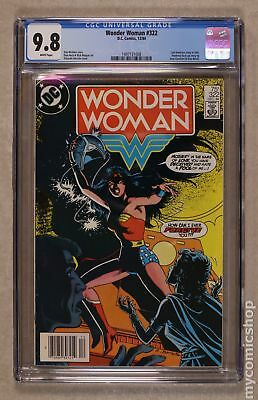 Wonder Woman (1st Series DC) #322 1984 CGC 9.8 1497131008