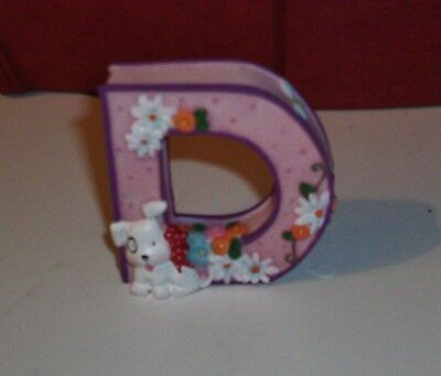Mary Engelbreit Alphabet Letter D Decorative Collectible 1999