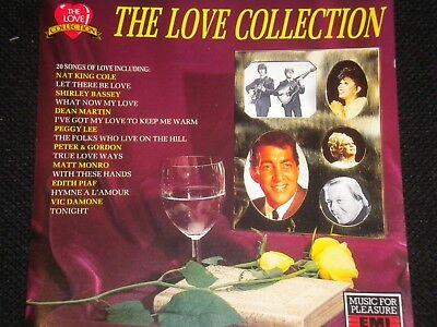 The Love Collection - CD Album - 1990 - 20 Great Tracks - Various Artists