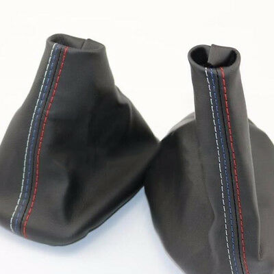 Car Gear Shifter Shift Knob Gear Gaiter Boot Cover For BMW E46 3 Series E36 M3