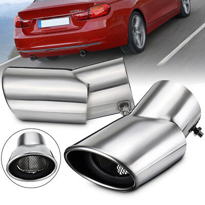 Exhaust Muffler Stainless Steel Oval Tail Pipe For Land Range Rover Sport Diesel